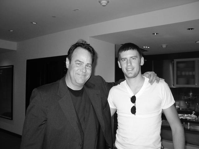 Dan Aykroyd and Patrick Cornell