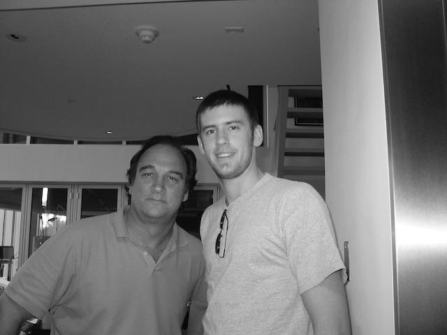 Jim Belushi and Patrick Cornell
