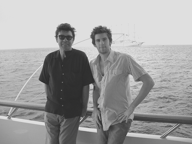 Robbie Robertson and Patrick Cornell